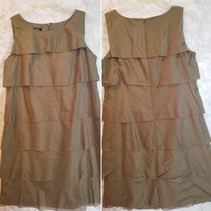 Beautiful summer layered sheath dress